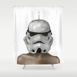 Droptrooper Shower Curtain