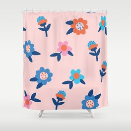 Eliza Bloom Shower Curtain