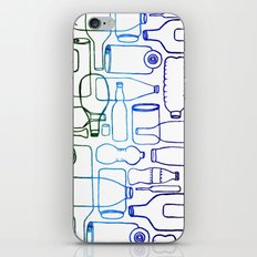 connected bottles iPhone & iPod Skin