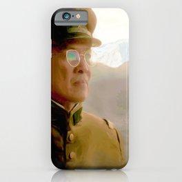 Chief Inspector Kido at Manzanar iPhone Case