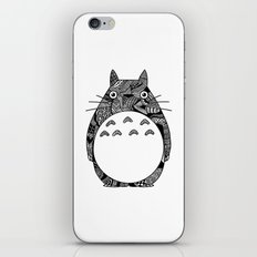 Ghibli Zentangle iPhone & iPod Skin