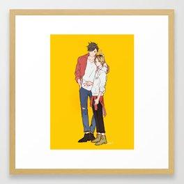City Boy Framed Art Print
