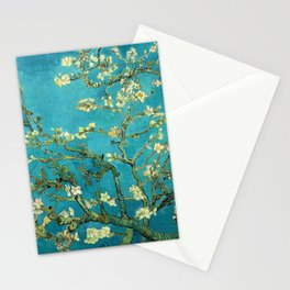 Vincent Van Gogh Blossoming Almond Tree Stationery Cards