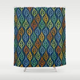 Autumn leaves pattern II Shower Curtain