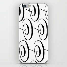 Curly Pattern 06 iPhone Skin