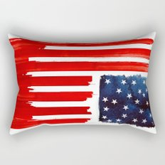 stars and buildings Rectangular Pillow