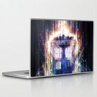 tardis Laptop & iPad Skins featuring Tardis by jasric