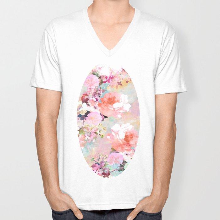 Love of a Flower Unisex V-Neck