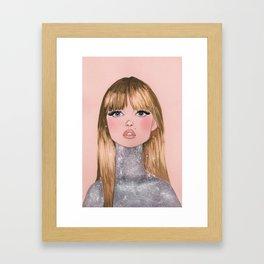 Bonnie Framed Art Print