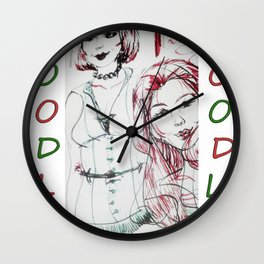 Gingerdoodle Wall Clock