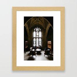 Exam Time at University of Toronto Framed Art Print