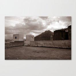 Abandoned Zone of Industry - Sicily - vacancy zine Canvas Print