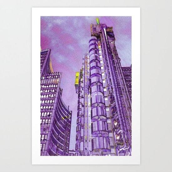 Willis Group and Lloyd's of London Art Print