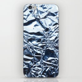 An abstract foil texture. iPhone Skin