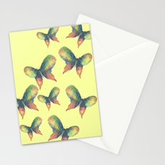 Rainbow Butterflies Stationery Cards
