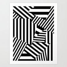 Razzle Dazzle I Art Print