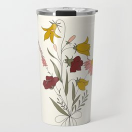 Wildflowers Bouquet Travel Mug