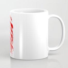 USA Sketched Flag Coffee Mug