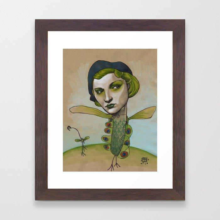 PRETTY'S ON THE INSIDE Framed Art Print