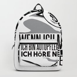 car care enthusiast quote  Backpack