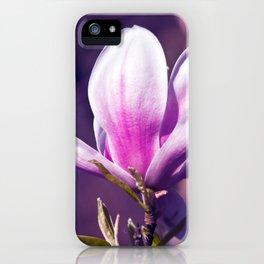Ultra Violet Magnolia iPhone Case