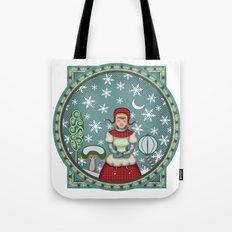 version of peaceful snow 2 Tote Bag