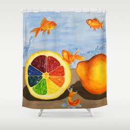 Fish R Friends, Not Food Shower Curtain