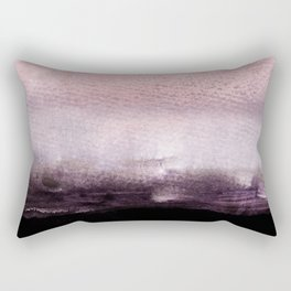 blush over purple Rectangular Pillow