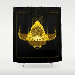 The Epoch Battle Shower Curtain