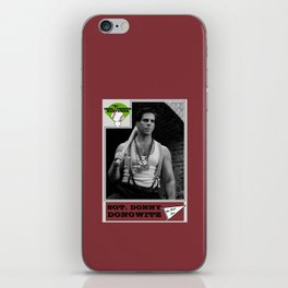 Donowitz Ball Card iPhone Skin