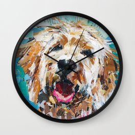 Millie The Cutie Wall Clock