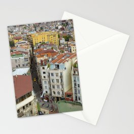 Life goes on in Constantinople - Istanbul cityscape photography Stationery Cards