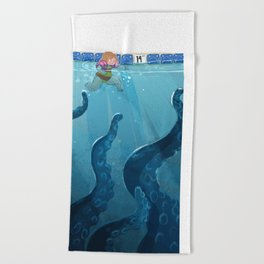 Childhood Fear: The Octopus in the Deep End Beach Towel