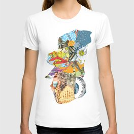 CutOuts - 4 T-shirt