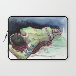 JOEY, Semi-Nude Male by Frank-Joseph Laptop Sleeve