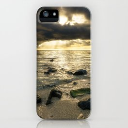 Sunset at the Beach Mauritius iPhone Case