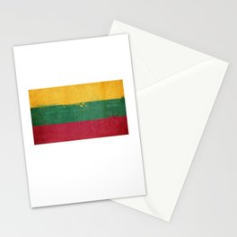Lithuania Flag design | Lithuanian design Stationery Cards