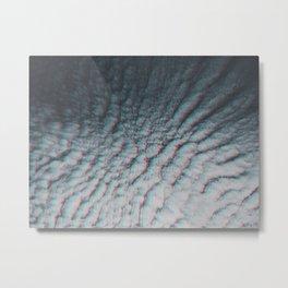 Clouds in Aspic Metal Print