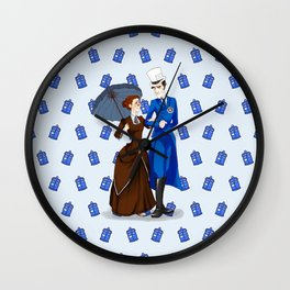 The Doctor And The Partner Wall Clock