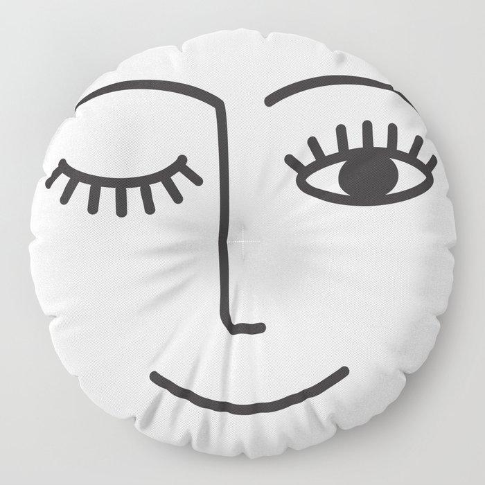 Wink Floor Pillow