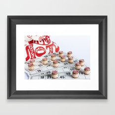 Lotto Framed Art Print