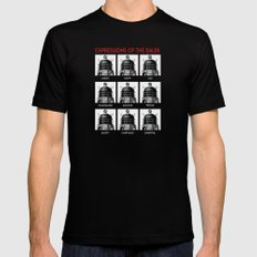 Expressions Of The Dalek Black Mens Fitted Tee X-LARGE