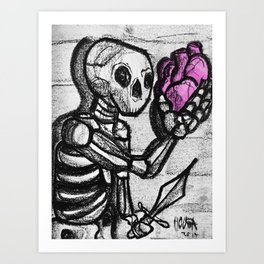 To love or not to love Art Print