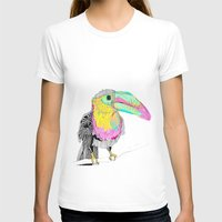 toucan T-shirts featuring Toucan by caseysplace