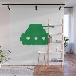 Mini-Tank Wall Mural