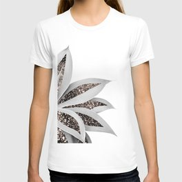 Agave Finesse Glitter Glam #1 #tropical #decor #art #society6 T-shirt
