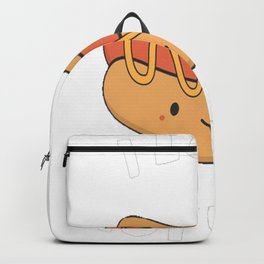 I Absolutely Love Hot Dogs Backpack
