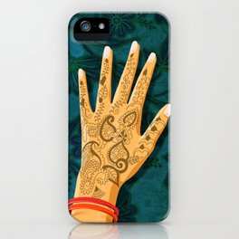 Mehndi iPhone Case