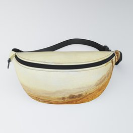 Mount Hood 1863 By Albert Bierstadt | Reproduction Painting Fanny Pack
