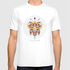 FOX SMALL White Mens Fitted Tee